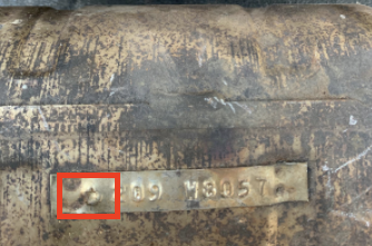 Identifying serial numbers on Chrysler Cat